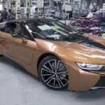 BMW i8 Roadster in Produktion