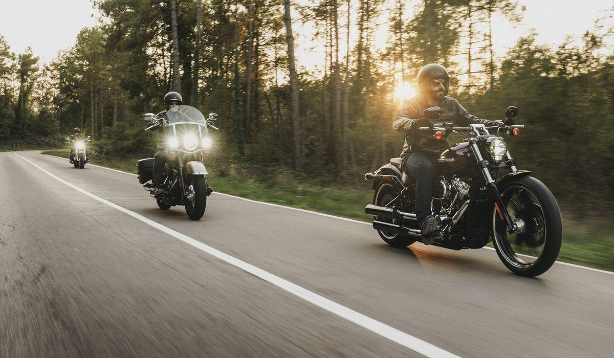 Roadshow mit Harley-Davidson