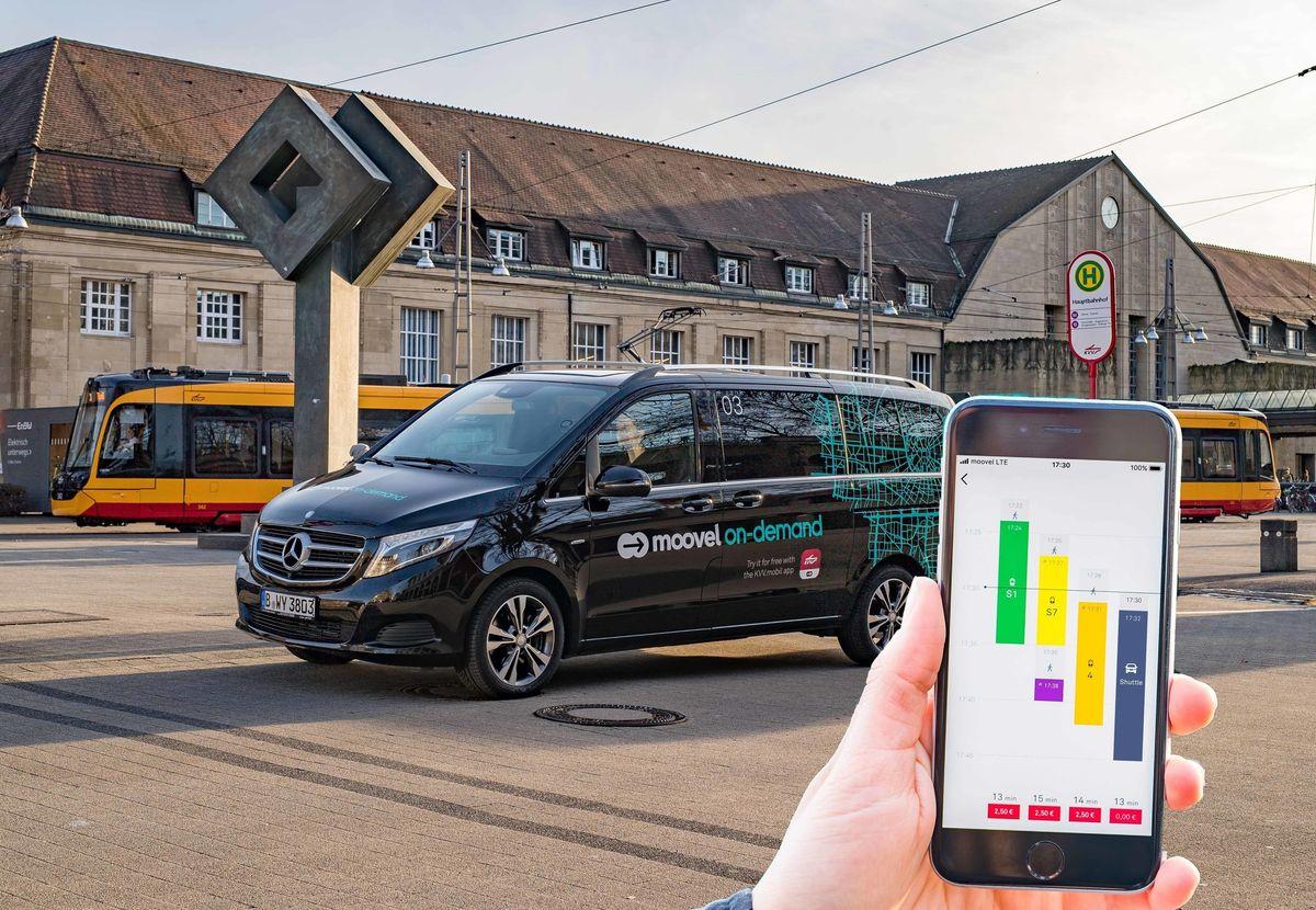 Bündelung der Mobilitätsdienste