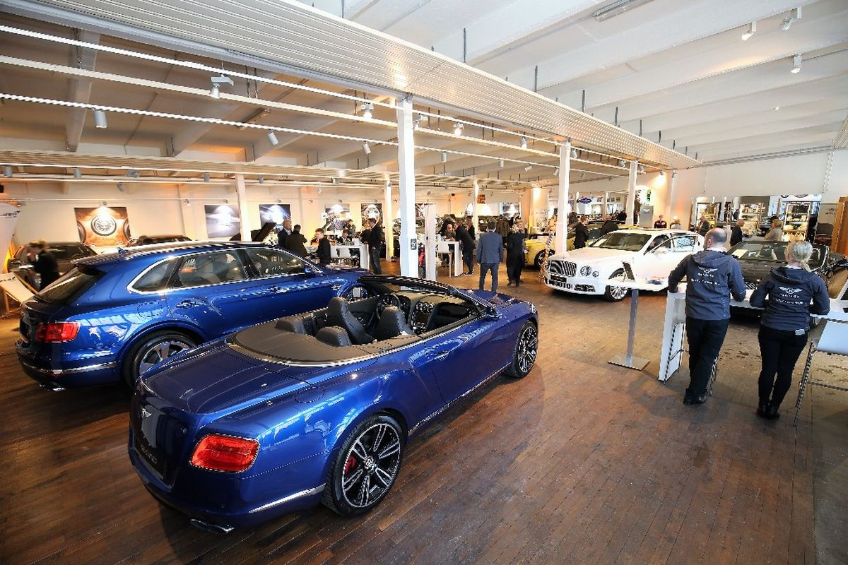 Bentley Hamburg, Pre-Owned Showroom