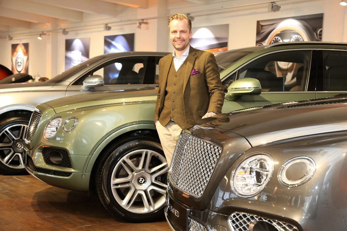 Sven Bajohr, Pre-Owned Sales Representative, Bentley Hamburg