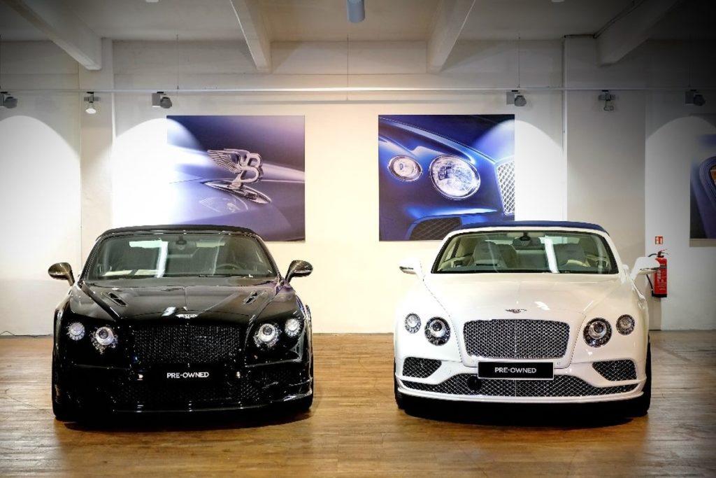 Bentley Hamburg, Pre-Owned Showroom