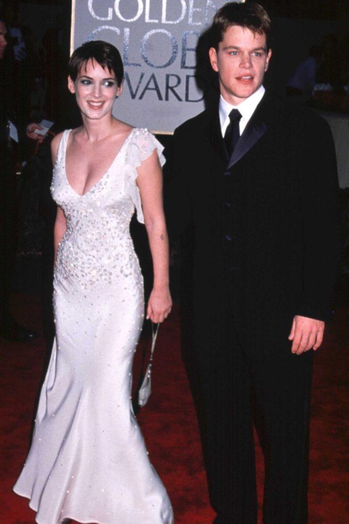 Winona Ryder und Matt Damon