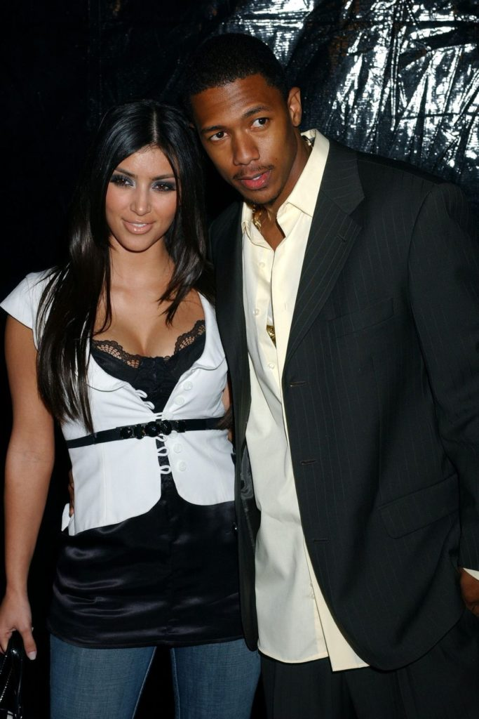 Kim Kardashian und Nick Cannon