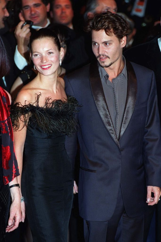 Kate Moss und Johnny Depp