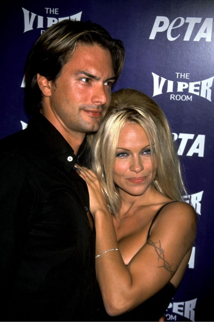 Pamela Anderson und Marcus Schenkenberg