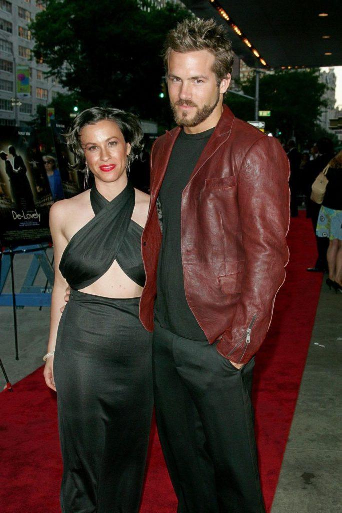 Alanis Morissette und Ryan Reynolds