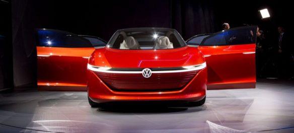 Volkswagen I.D. Vizzion: Autonome Oberklasse