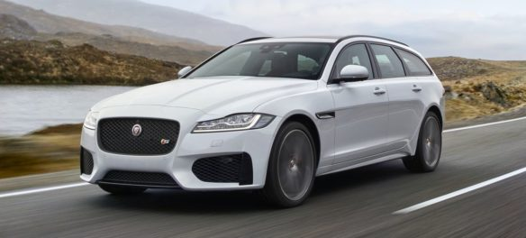 Test Video: Jaguar XF Sportbrake (2018)