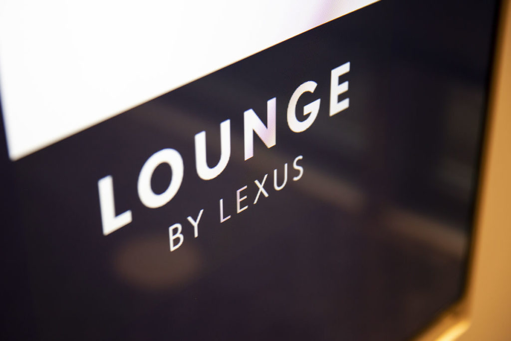 Lexus-Lounge am Brüsseler Flughafen