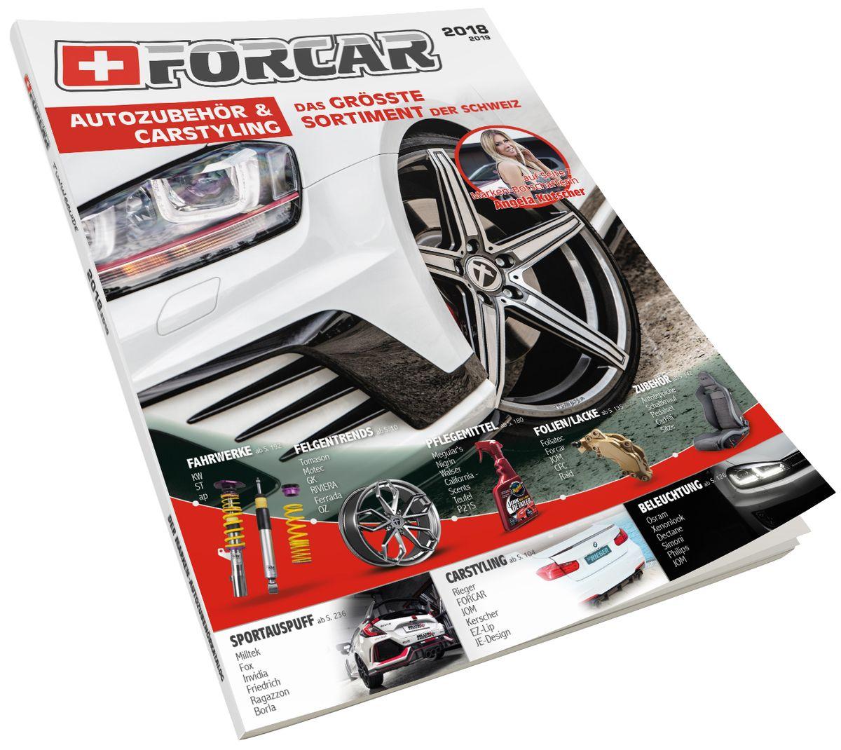 neuer katalog mit autozubeh r und carstyling shots magazin. Black Bedroom Furniture Sets. Home Design Ideas
