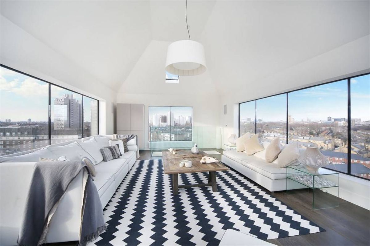 London: Ausblick auf die Skyline für 4,1 Millionen Euro