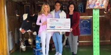 Charity: Wilde Maus XXL übergibt Spendenscheck an Sternenbrücke