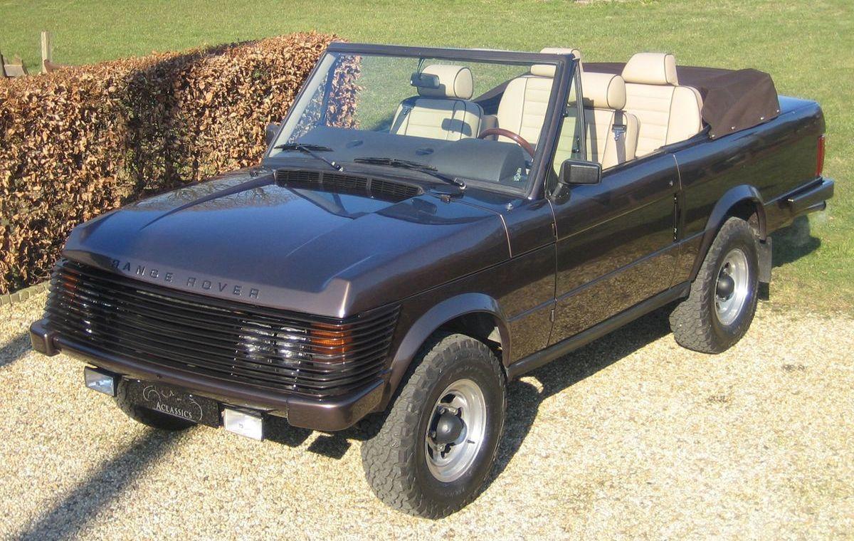 Range Rover Cabriolet von 1973