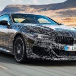 BMW 8er Coupé auf Erprobungsfahrt
