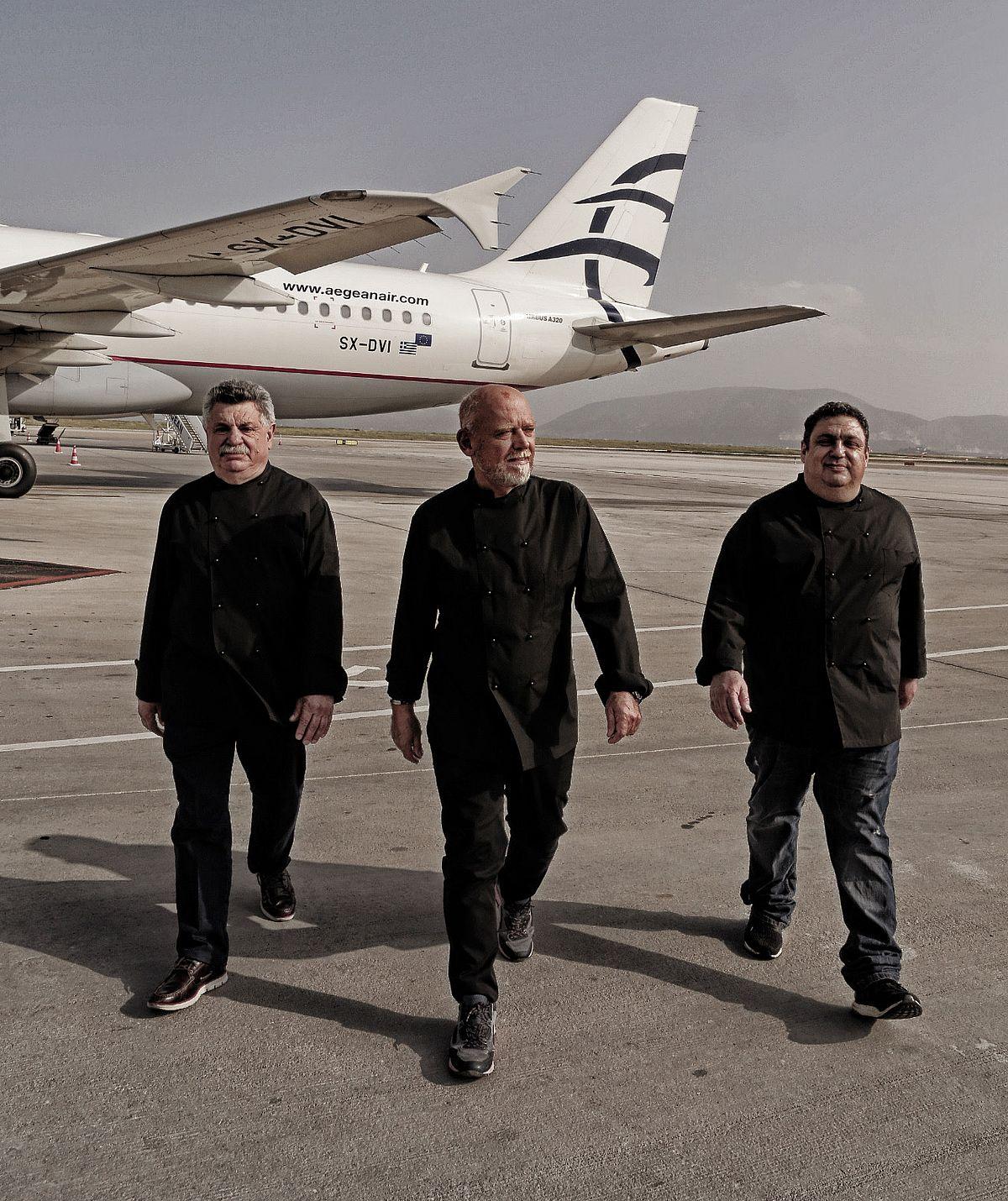 Lefteris Lazarou, Christoforos Peskias and Stelios Parliaros