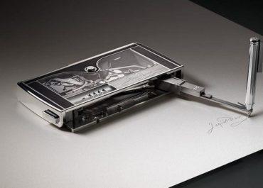 Die Signing Machine von Jaquet Droz
