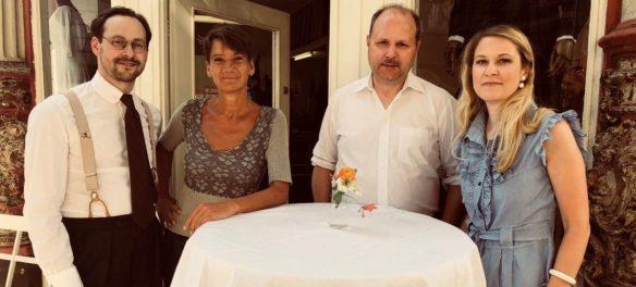 Thomas Klein, Natascha Hoffmann, Uwe Müller, Katrin Wegener