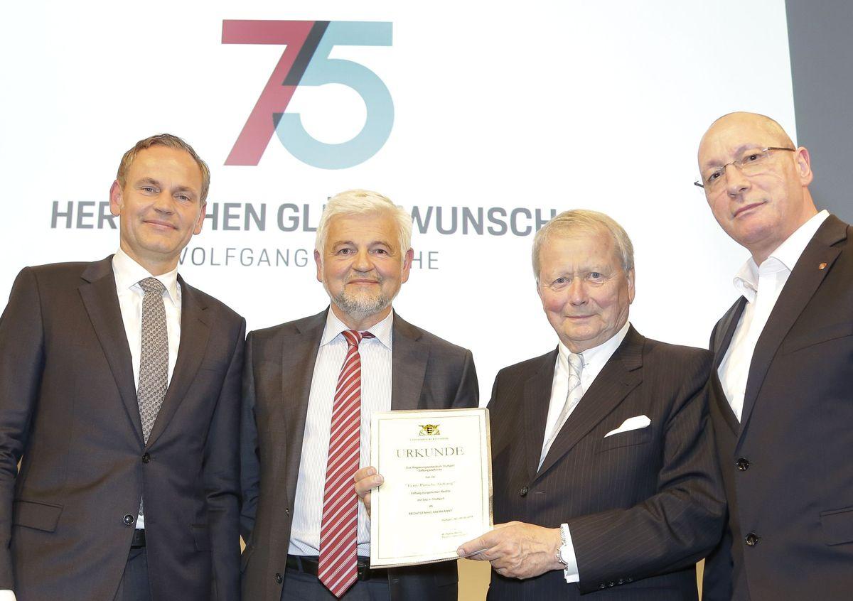 Oliver Blume, Wolfgang Reimer, Dr. Wolfgang Porsche, Uwe Hück