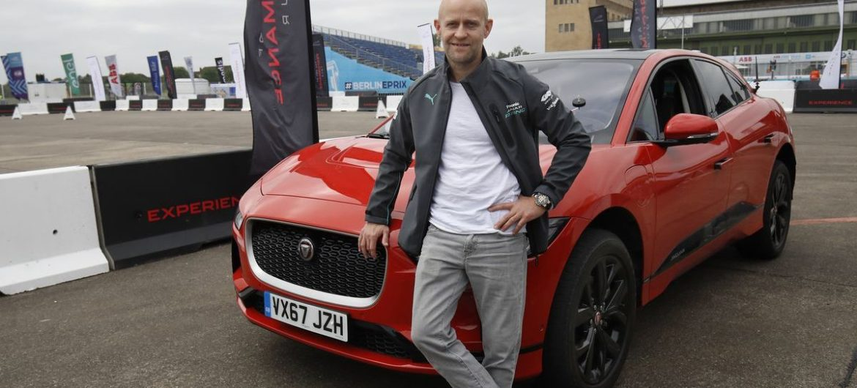 Jürgen Vogel testete den Jaguar I-Pace