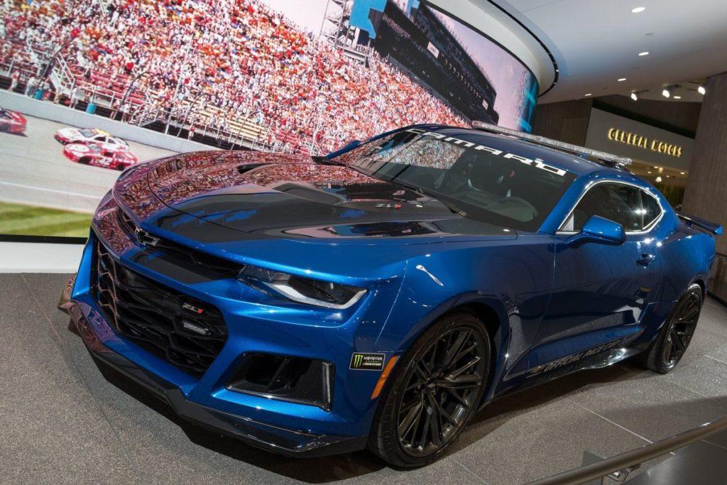 Chevrolet Camaro ZL1 als Pace-Car des Detroit Grand Prix, 2018