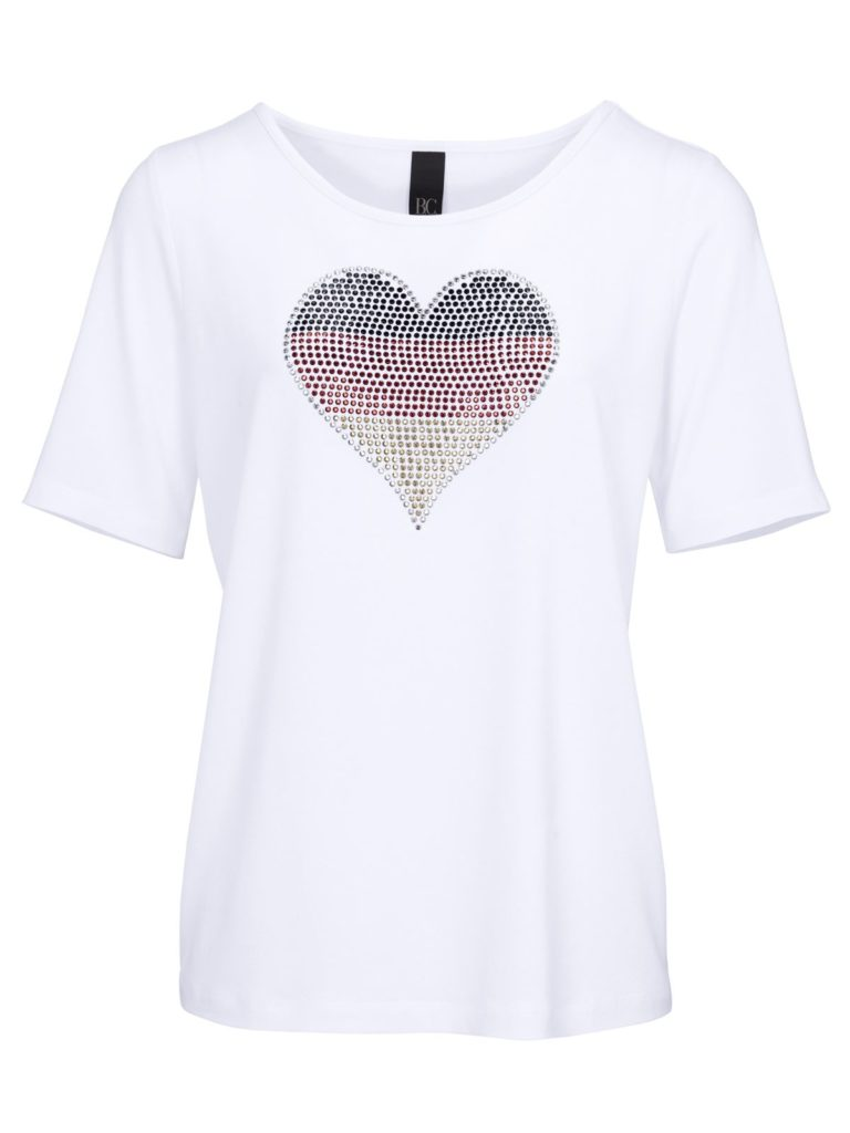 Heine: Shirts mit Schwarz-Rot-Gold