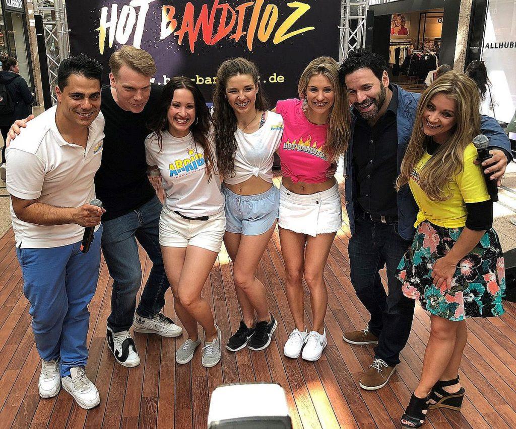 Silva Gonzalez, DJ Decane, Melissa Smolka, Franziska Wagner, Stefanie Schanzleh, Akif Aydin, Cathrin Geissler