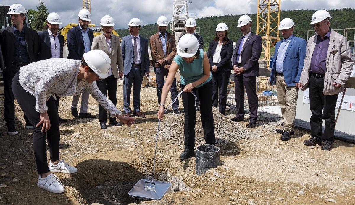 Audemars Piguet: Grundsteinlegung für das neue Hôtel des Horlogers