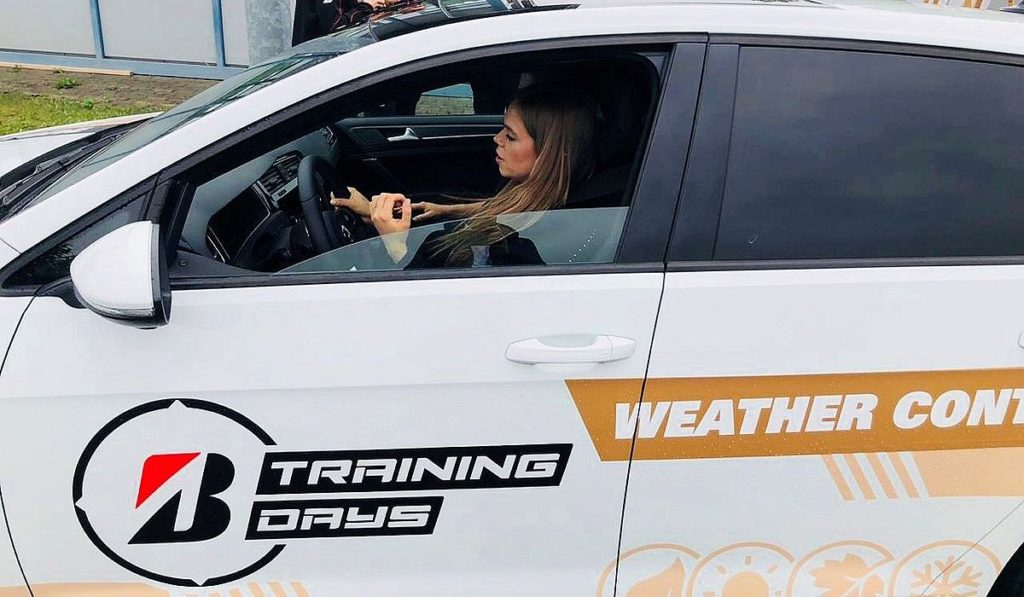 Bridgestone Training Days, Jana Möller