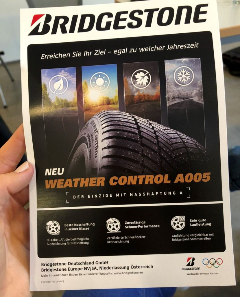 Bridgestone Training Days