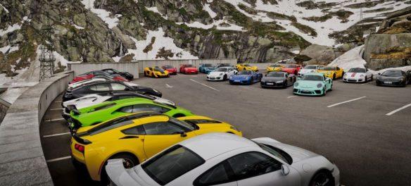 """Hypercar-Event """"Driving Alps"""": Mensch und Maschine"""