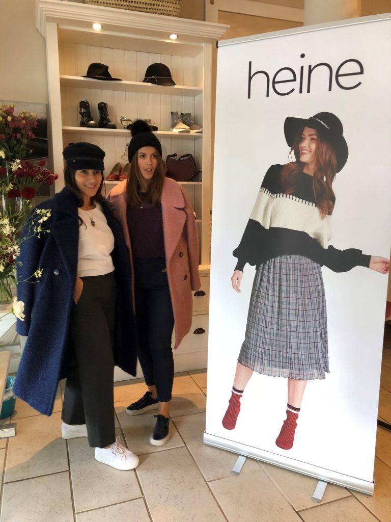 Heine Herbst/Winter Kollektion 2018: Trends beim Fashion-Tea