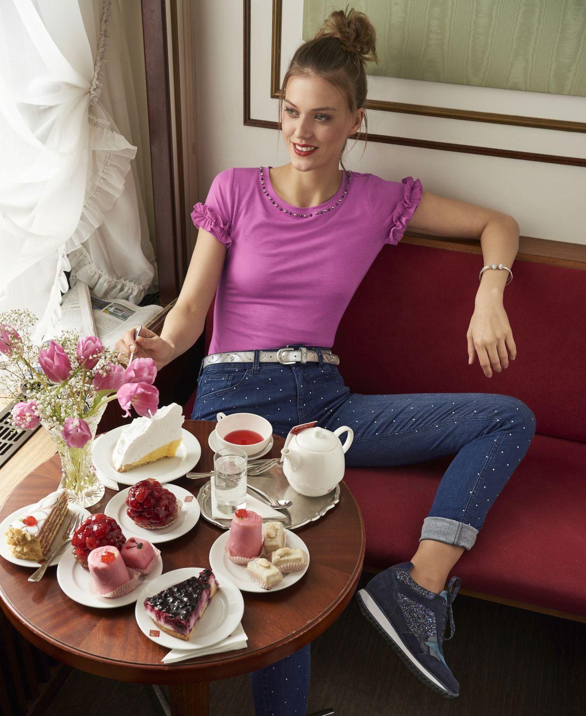 Heine Herbstwinter Kollektion 2018 Trends Beim Fashion Tea Shots