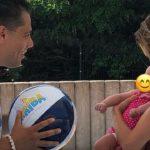 Quality-Time beim Baby-Schwimmen