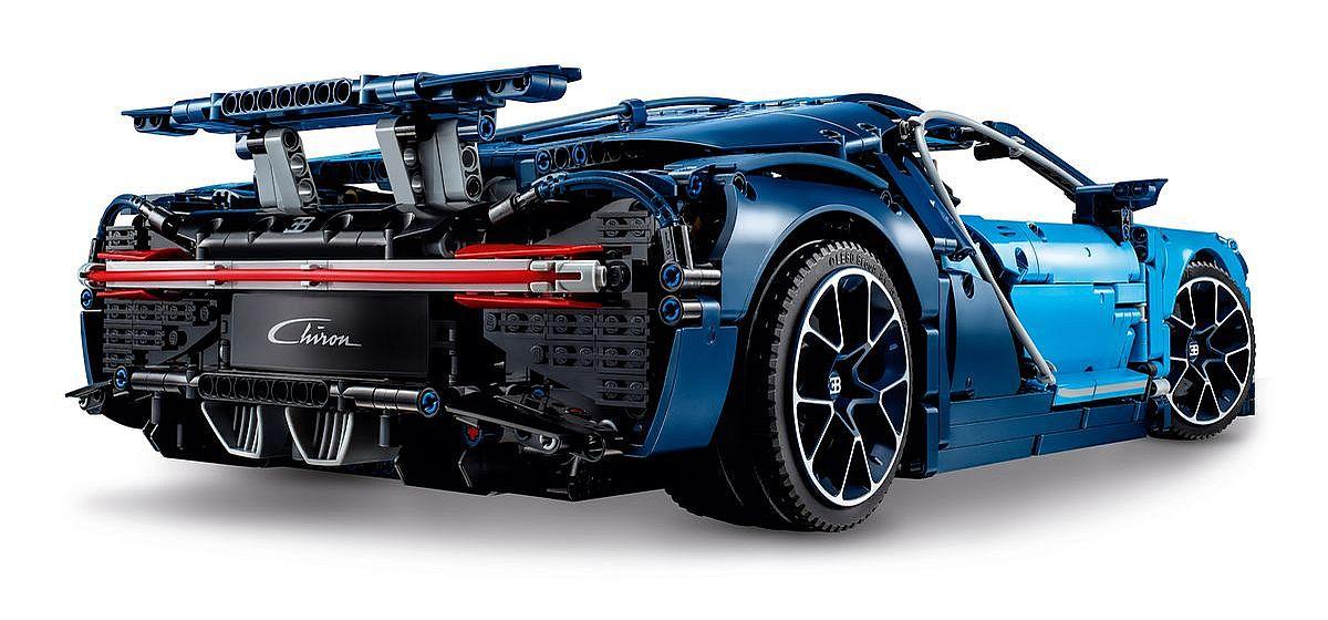Bugatti Chiron von Lego Technic