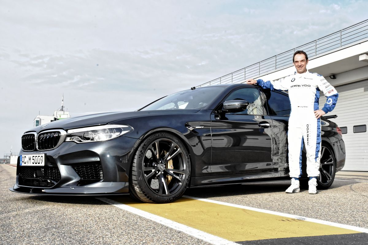 Jörg Müller, BMW M5 by AC Schnitzer
