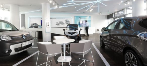 Renault Electric Vehicle Experience Center