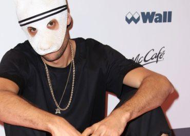 Rapper Cro trat für ChannelAid in Hamburg auf