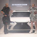 Lexus: 3D-Mode auf der Platform Fashion