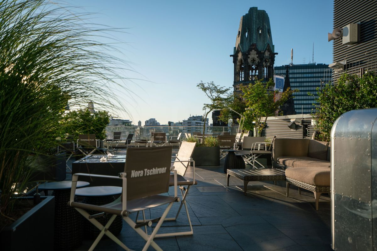 Dachterrasse, Motel One Berlin-Upper West