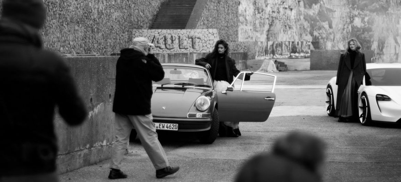 Peter Lindbergh shootet für Porsche