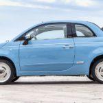Italo-Cabrio: Fahrender Liegestuhl in Hellblau