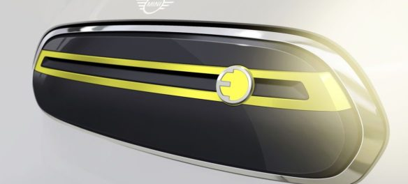 Mini Electric Concept Designskizze