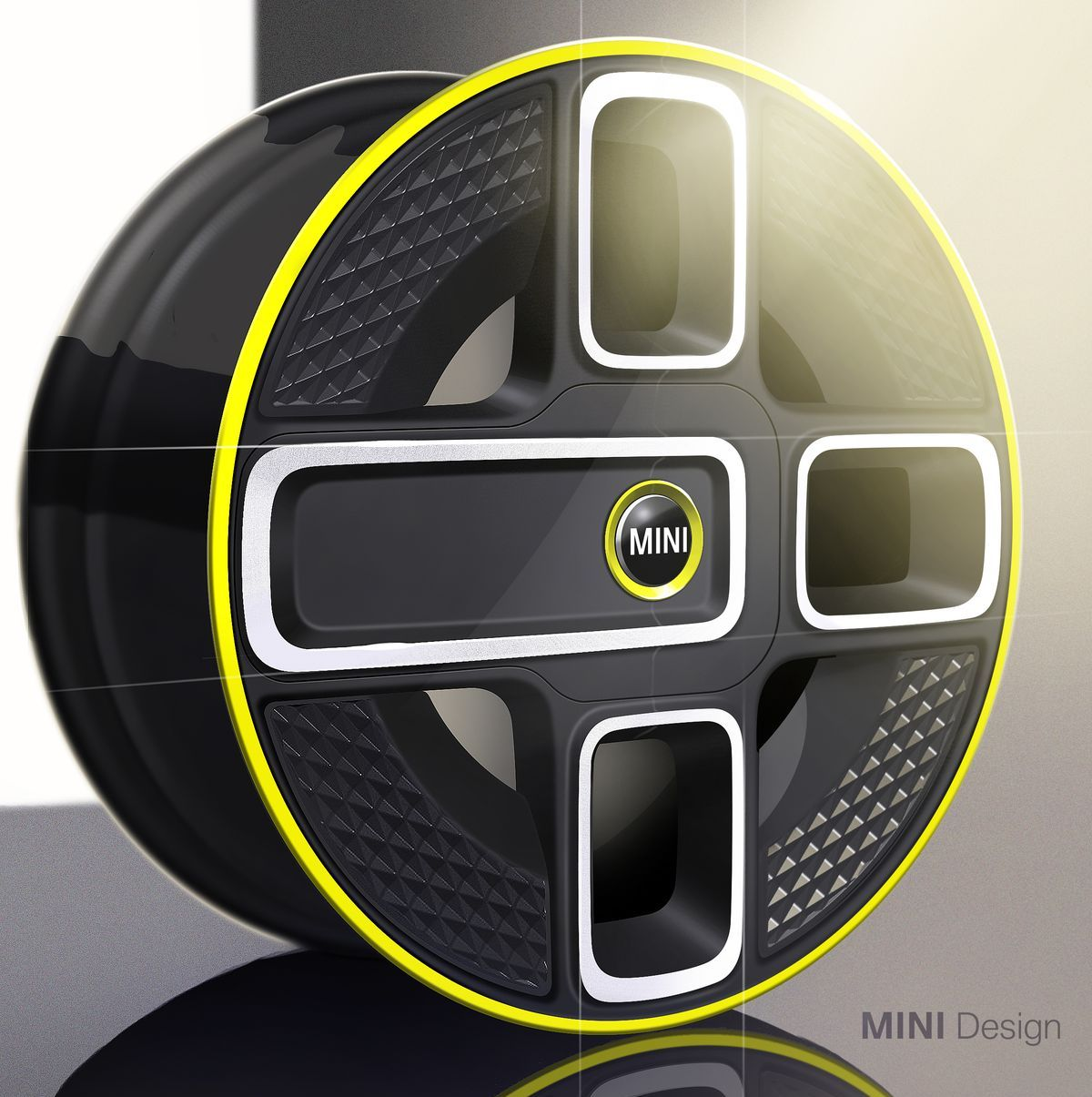 Mini Electric Concept Designskizze