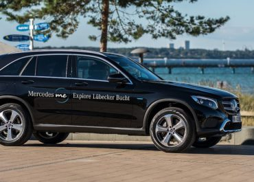 In der Lübecker Bucht: Mercedes-Me Explore