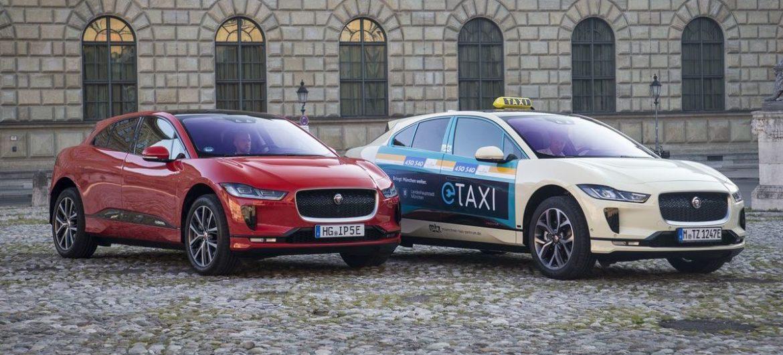 Jaguar I-Pace als Taxi