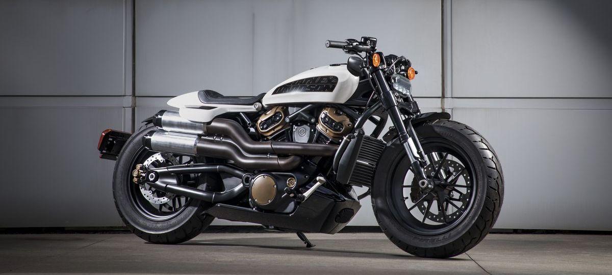 Geplantes neues Custom-Modell von Harley-Davidson
