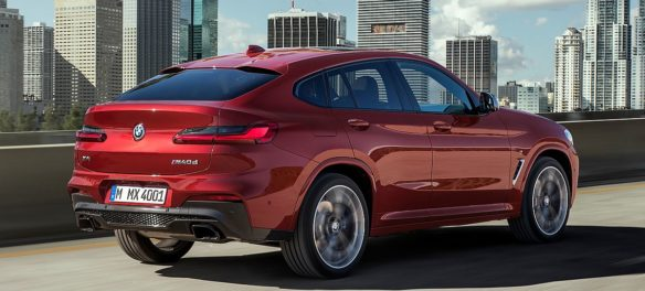 Test Video: BMW X4 M40d (2018)