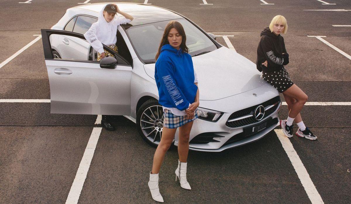 She's Mercedes bei der Bread&&Butter 2018