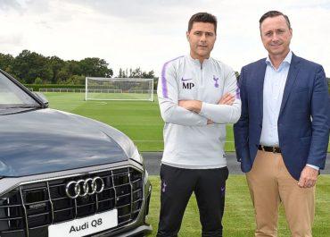 Audi ist Partner von Tottenham Hotspur